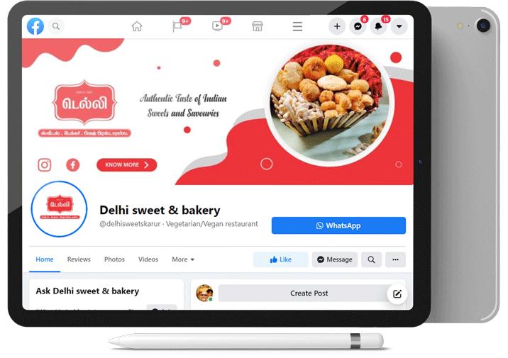 social media management company in karur